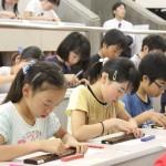 第1回関東オープン珠算選手権大会が行われました(千葉県ソロバンを楽しむ会)