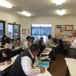 教師資格研修(中・上級)、集中講座を行いました(11月25日(日))